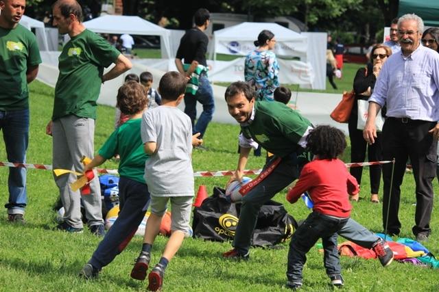 Anche l'Assessore allo Sport della Città di Torino gioca con la Drola Junior